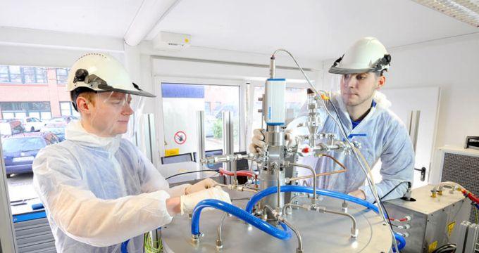 Qualitätssicherung bei der Siliziumherstellung