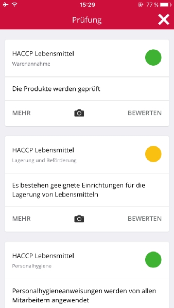 haccp-bewertung